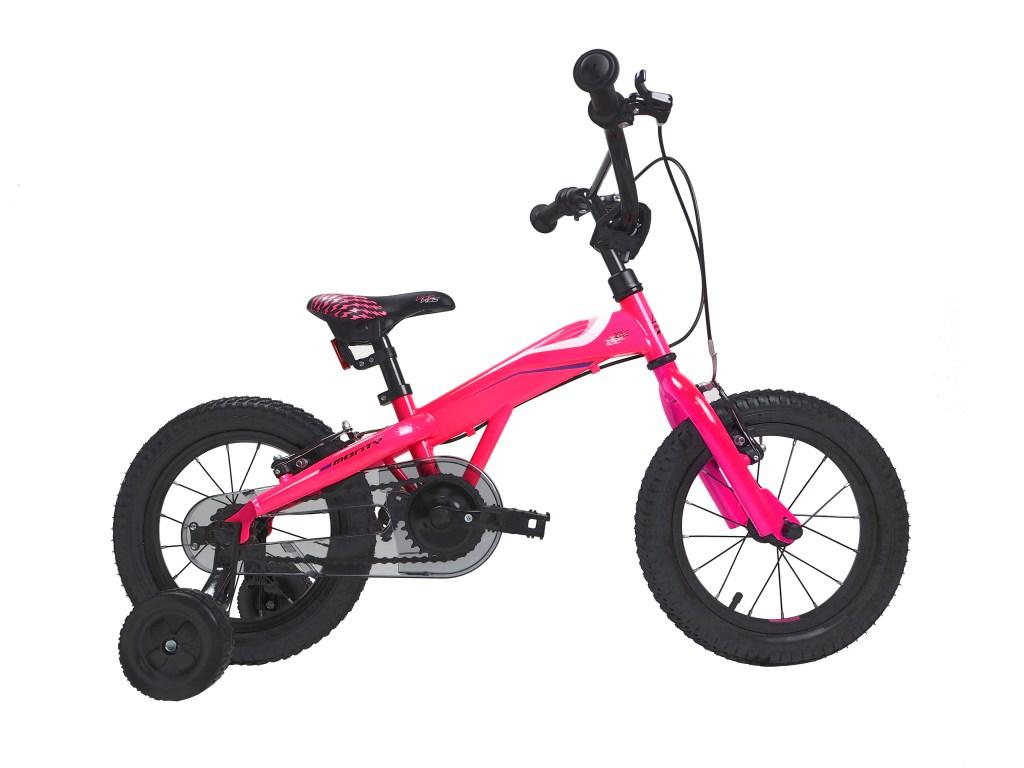 støttehjul sykkel